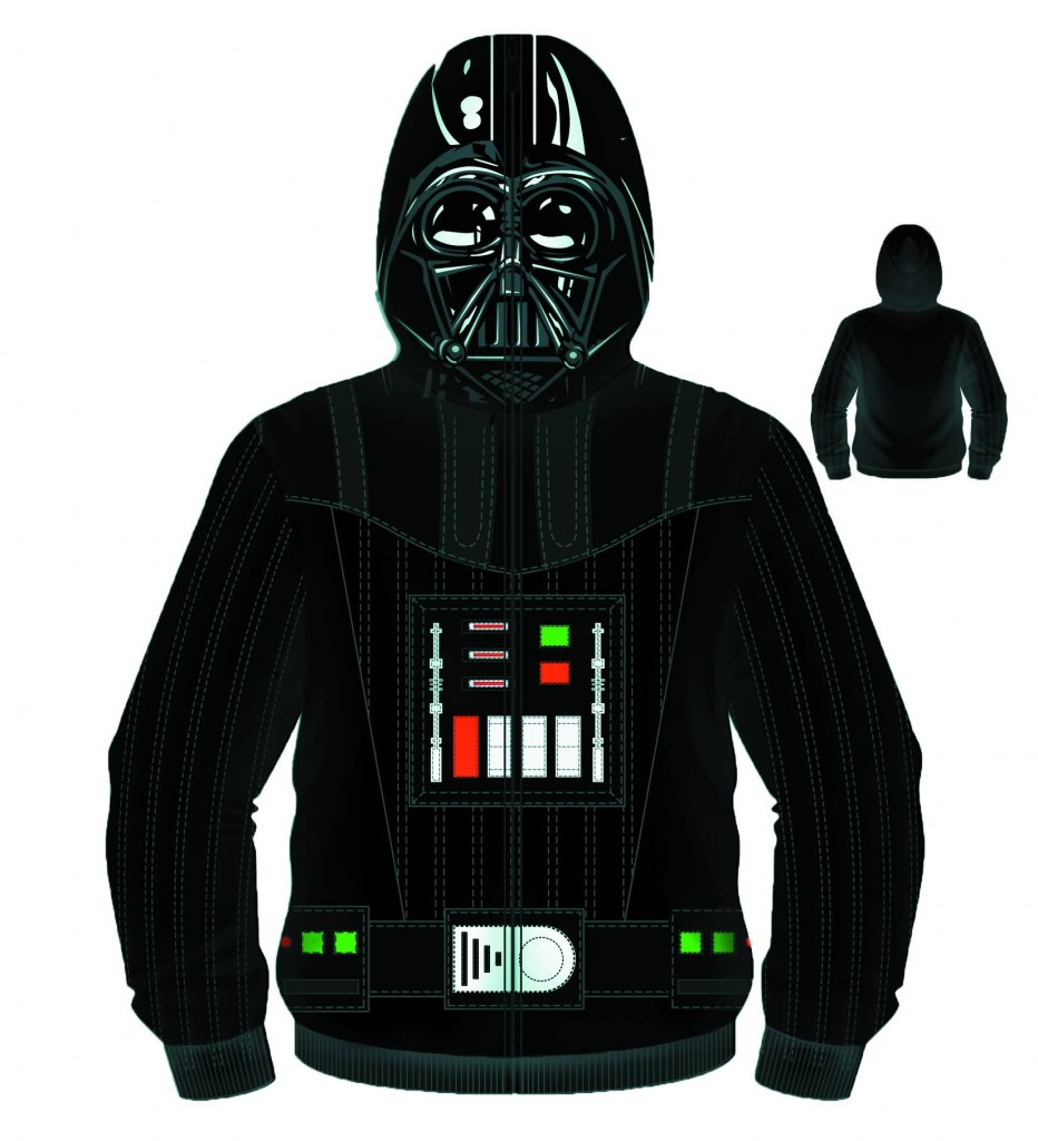 STAR WARS SITH FULL FACE VADER COSTUME HOODIE | Amazing Stories Comics