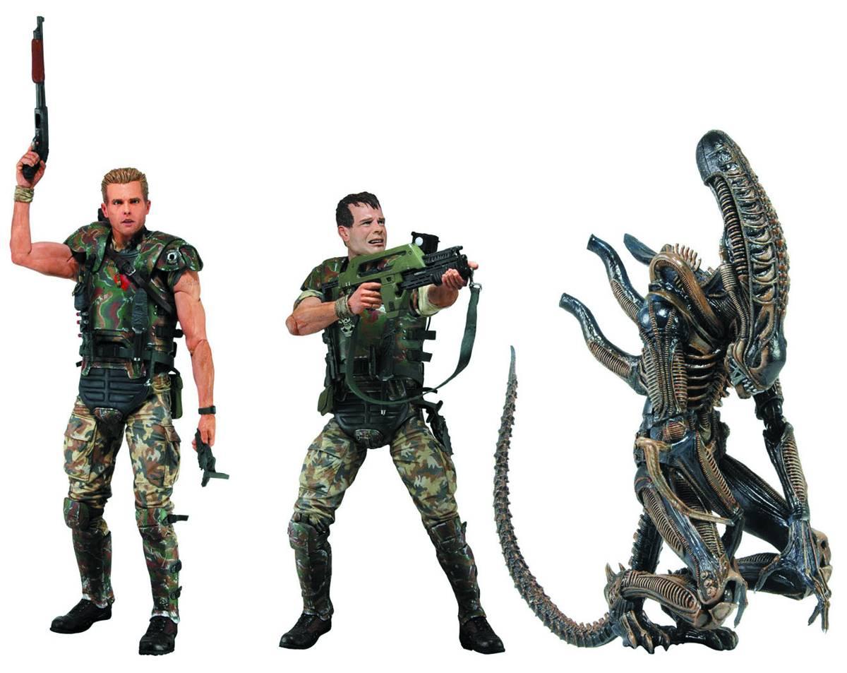 aliens series 1 action figures amazing stories comics