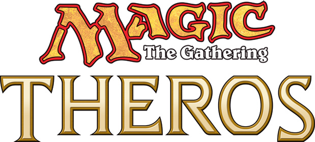 Magic 2013 Logo Theros Logo