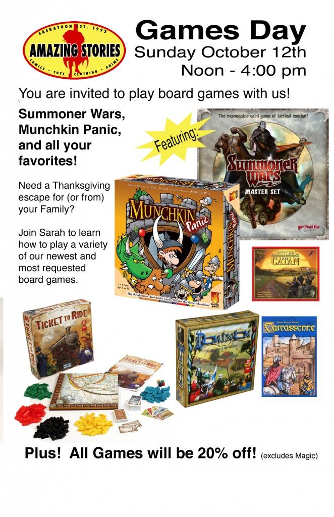 Games Night Oct 12