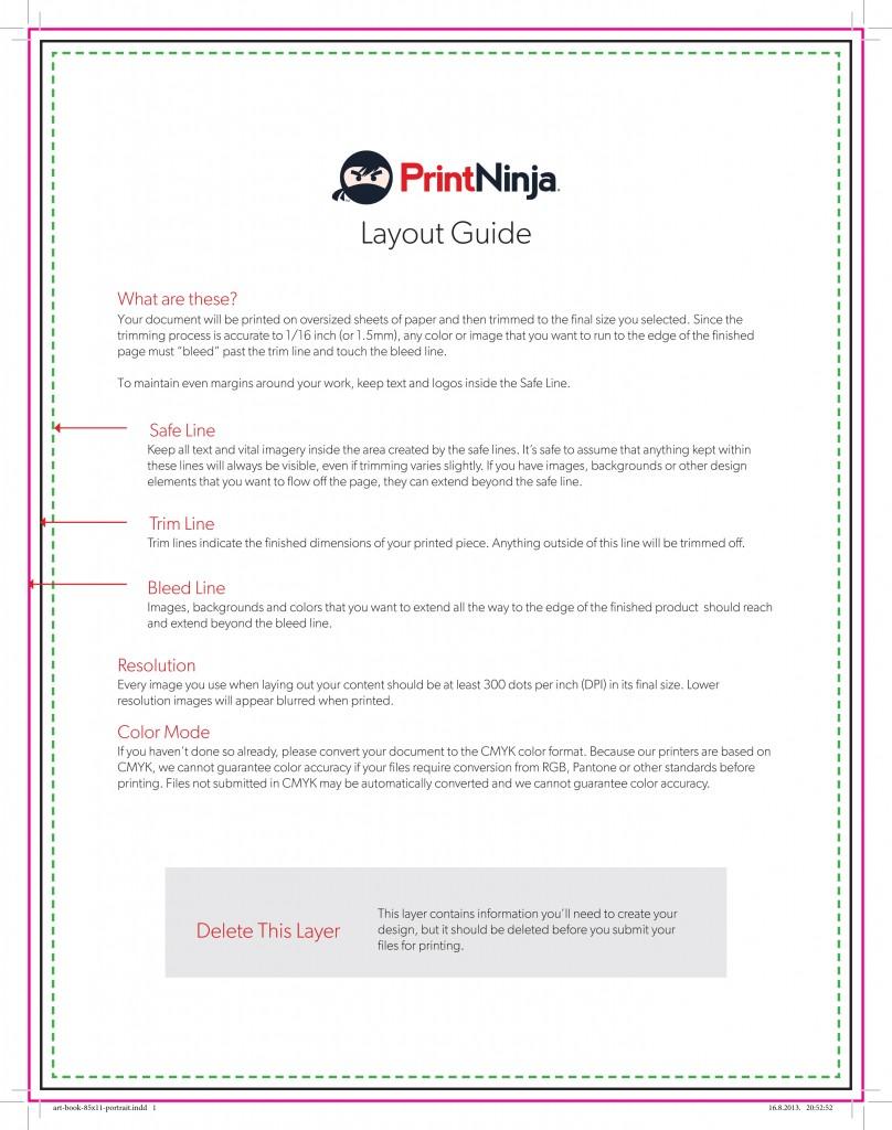 Print Ninja template