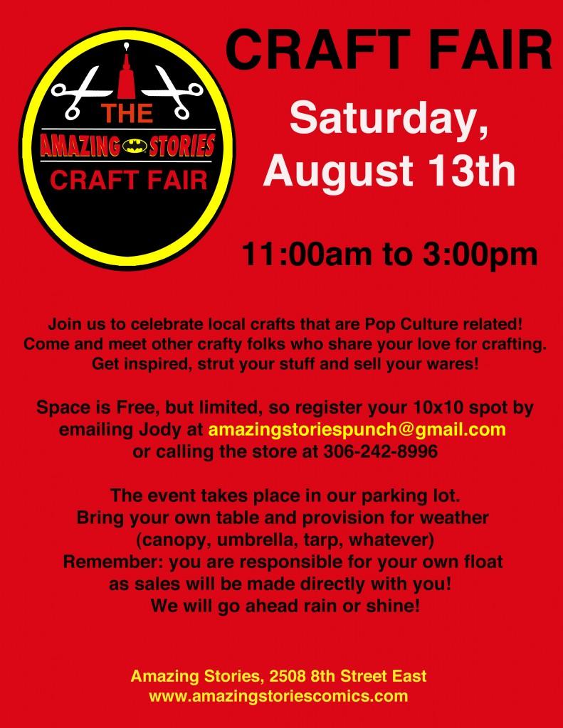 Craft fair aug 2016