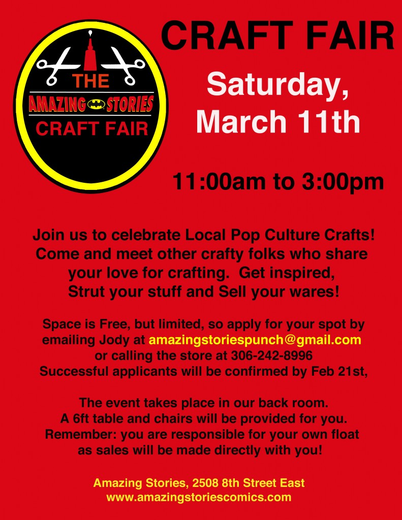 Craft fair march 2017