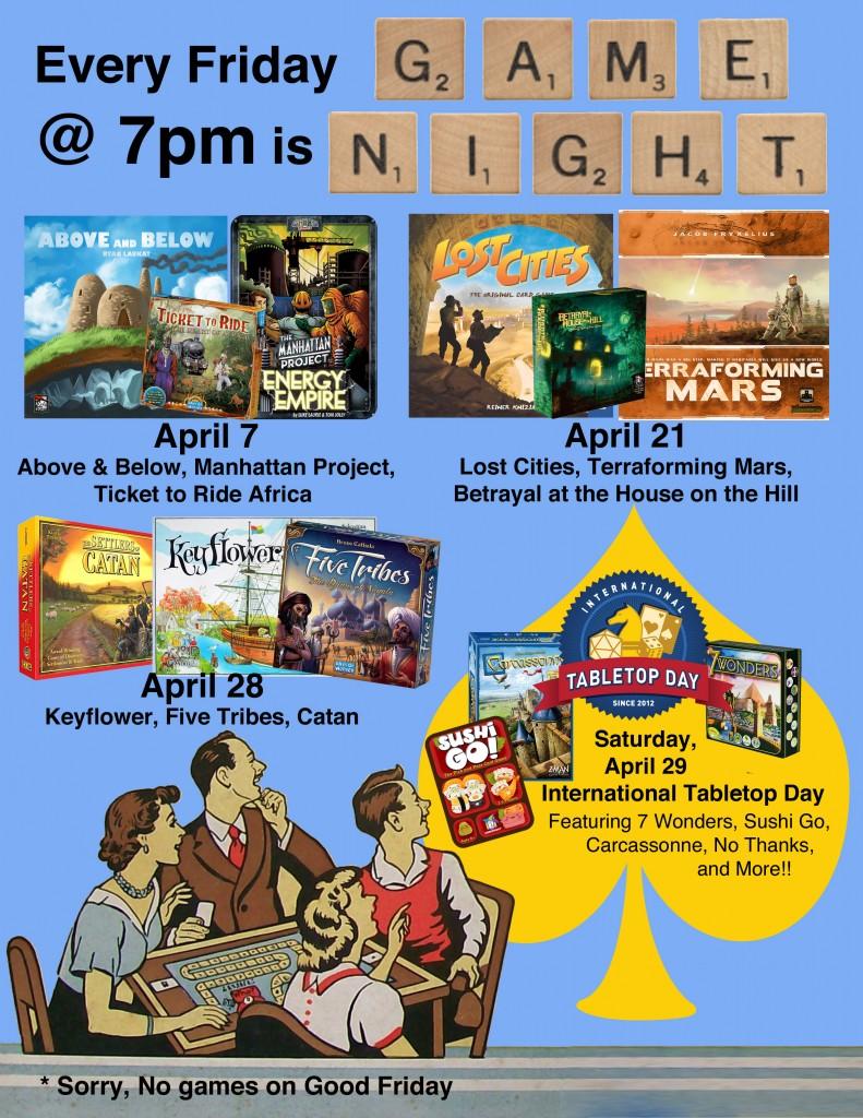 game night april