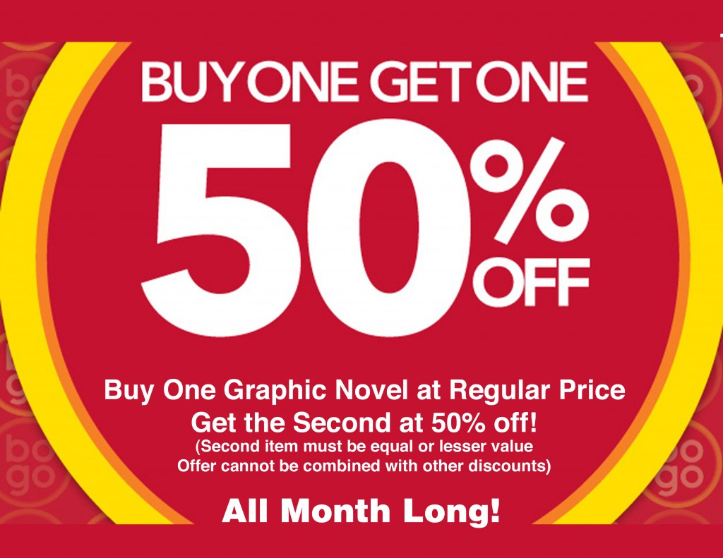 BOGO Graphic Novels copy
