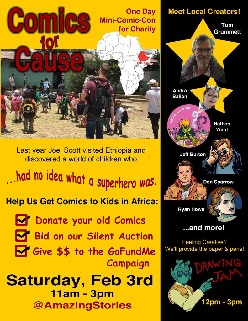 Comics for cause